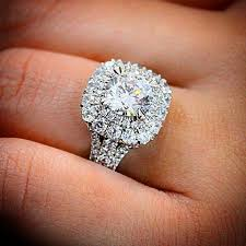 square engagement rings with halo best 25 square halo engagement rings ideas on square
