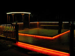 low voltage strip lighting outdoor deck lighting ideas led deck lighting with rgb flexible led strips