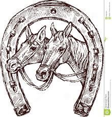horseshoe stock image image 25087631