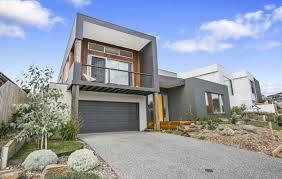 Hillside House Plans With Garage Underneath Best Slope Block Home Designs Contemporary Decorating Design