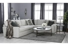 bowen 2 piece sectional living spaces