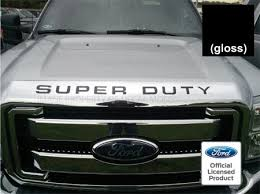 amazon com ford super duty letter inserts thin for hood