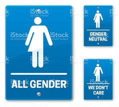 all gender restroom bathroom signs stock vector art 531309088 istock