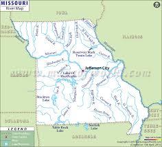 map of missouri river river in missouri missouri rivers map
