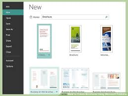 brochure 4 fold template blank brochure template publisher blank brochure template