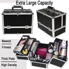 Make Up Vanity Case Makeup Train Case Ebay