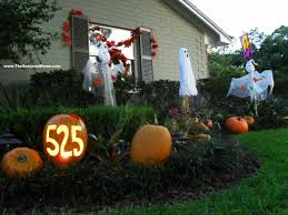 halloween outdoor decoration fall yard turns u2026 spooooky the seasonal home
