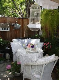 shabby chic patio decor my romantic home march 2012