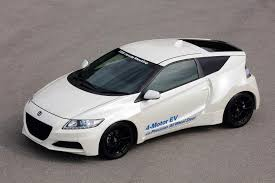 honda hybrid sports car honda planning cr z electric sports car gas 2