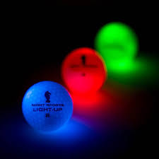 up golf balls with led lights and non removable lithium ion