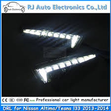 best led daytime running lights best selling good price led drl for nissan altima daytime running