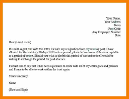 resignation letter for work formal examples how to sign a