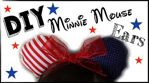 Mickey Mouse Flag Diy American Flag Minnie Mouse Ears Perfect For 4th Of July