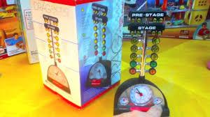 christmas tree light game drag racing starting line tree alarm clock on toyreviews youtube toy