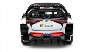 toyota yaris the 2017 toyota yaris wrc could double as an aircraft carrier