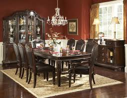 classic dining room furniture rich brown finish classic dining room table w optional items