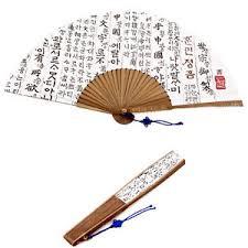 folding fan korean paper bamboo folding fan korea tradition fan korean