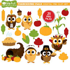 thanksgiving clipart fall owls clip thanksgiving owls