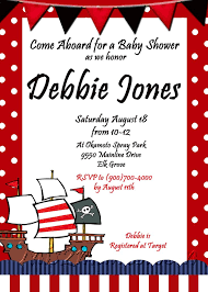 pirate baby shower invitations cimvitation