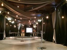 Marquee Chandeliers Transformation Of An Indoor Space With Marquee Linings To Create