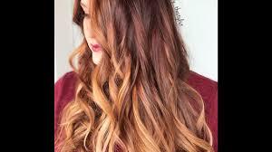 auburn copper hair color formulation for auburn copper balayage youtube