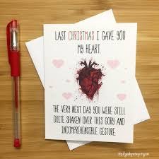 humorous christmas cards funniest christmas cards a new spin on the last christmas i gave