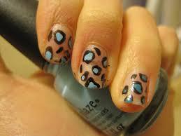 easy cheetah print nail design hand drawn youtube