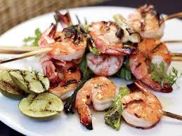 grilled miso shrimp recipe grace parisi food wine