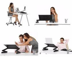 Laptop Folding Desk by Jinhua Portable Adjustable Aluminum Flexible Laptop Folding Desk