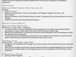 19 sample resume for highschool students high resume 9