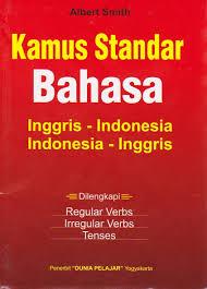 Kamus Bahasa Inggris Kamus Standar Bahasa Inggris Indonesia Toko Buku