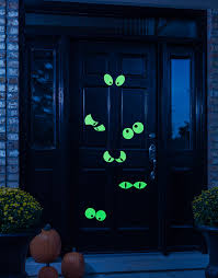 glow in the decorations spooky glow in the for your doorway