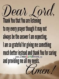 thank you that you are listening to my every prayer yes pin it