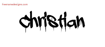 graffiti name tattoo designs christian free lettering free name