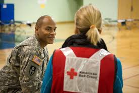 service to the armed forces at the american red cross