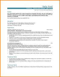 Resume Sample Uiuc by 5 Marketing Resume Samples Affidavit Letter