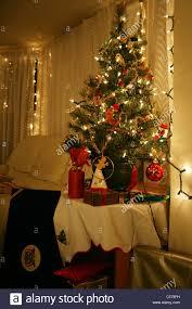 xmas tree on table miniature christmas tree lights christmas decor inspirations