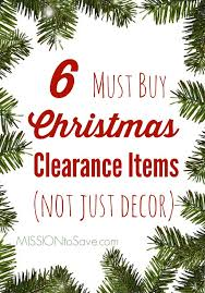 6 must buy clearance items and i m not just talking