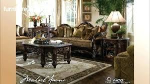 Microfiber Sleeper Sofa Lovely Aico Tuscano Bedroom Set Large Size Of Coffee Dining Set