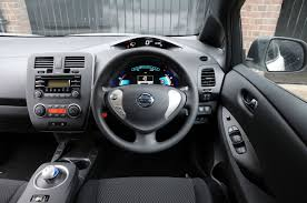 nissan leaf interior nissan leaf visia 2013 pictures nissan leaf visia rear action