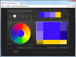 pick color how to use the color scheme designer for your html5 and css3 based