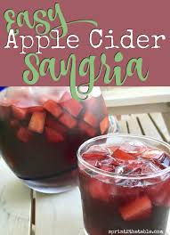 thanksgiving sangria recipe easy apple cider sangria recipe sprint 2 the table