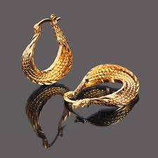 design of gold earrings ear tops bangrui top quality gold color ear hook stud earrings jewelry for