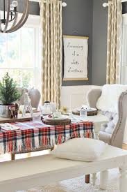 Neutral Dining Rooms 2017 Grasscloth Wallpaper Best 25 Christmas Dining Rooms Ideas On Pinterest Office