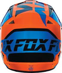 motocross gear bags closeout 108 70 fox racing v1 mako dot helmet 234747