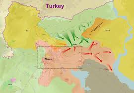 Syria Situation Map by Turkish Military Intervention In Syria Wikipedia