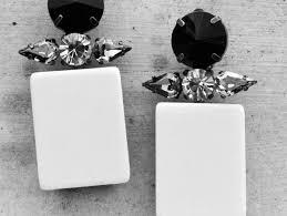 hm earrings marni x h m earrings the style cavalry