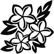 black and white flower picture free download clip art free