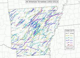 tornado map arkansas s tornado alley take a look arkansas