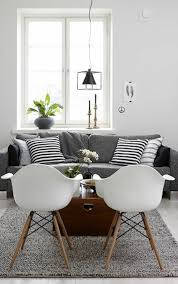 deco avec canapé gris choisir le meilleur tapis scandinave avec notre galerie salons